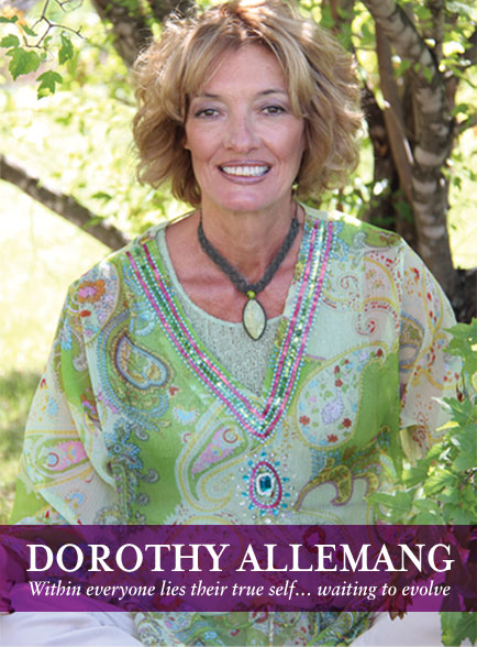 Dorothy Allemang, author and narrator of a meditation cd featuring guided meditations and guided relaxation techniques